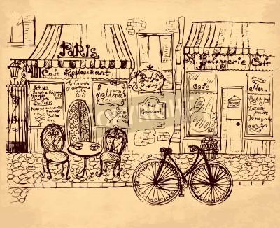Póster ilustración dibujados a mano