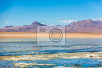 Increíble escenario paisajístico en Bolivia, Sudamérica.