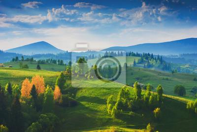 Increíble valle de los Cárpatos