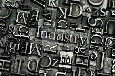 Póster industria