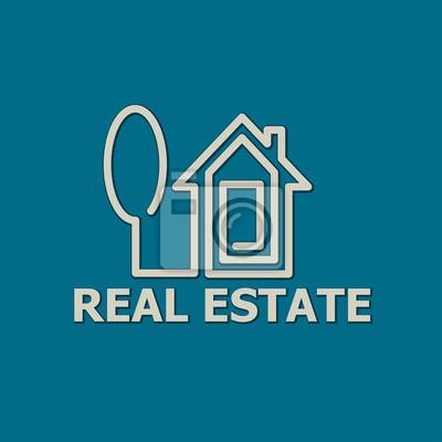 inmobiliario casa logo