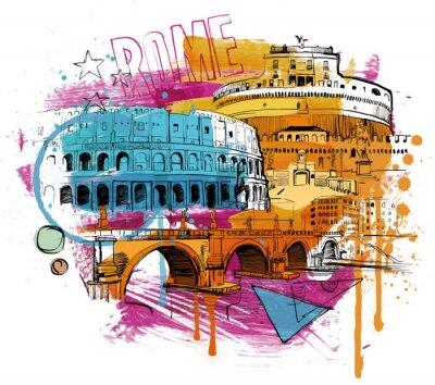 Póster Inside Rome