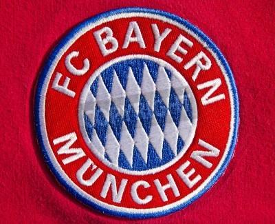 Póster Insignia del club de fútbol alemán FC Bayern Munich