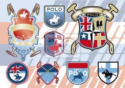 insignias de polo a caballo