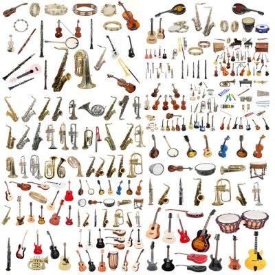 Póster instrumentos musicales