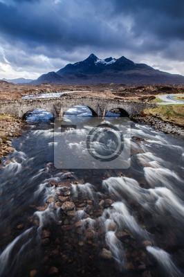 Isla de Skye río