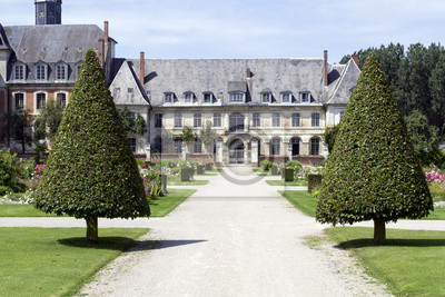 Jardins et paysagers botánico de l'Abbaye de Valloires