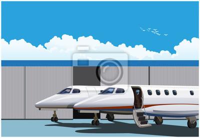 Jets de negocios de lujo