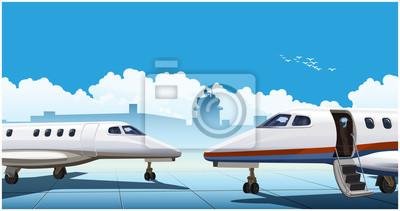 Jets de negocios modernos