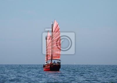 jonque, joncque, bateau, gasa, voilier