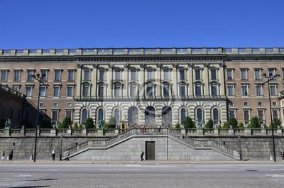 Königliches Schloss, Estocolmo