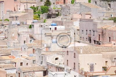 La ciudad de Erice. Sicilia.