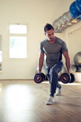 Póster La construcción de su bíceps