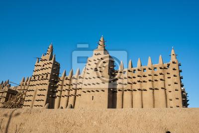 La Gran Mezquita de Djenné, Malí, África.