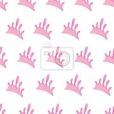 Póster La luz de color rosa princesa patrón patrón de fondo, textura transparente