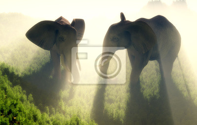 La manada de elefantes