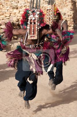 La máscara del antílope y la danza dogón, Mali.