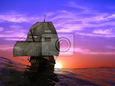 La nave antigua