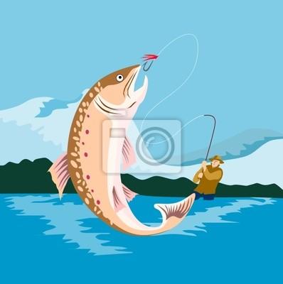 La pesca con mosca y lo que una captura