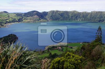 Lac Sete Cidades (les Açores)