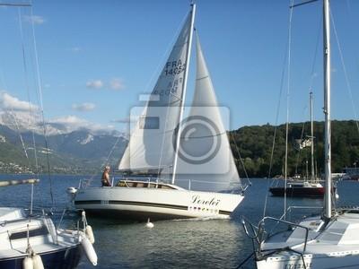 lac voilier bateau