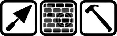 Ladrillo Herramientas de capa Símbolo