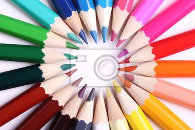 Lápices de colores - de cerca