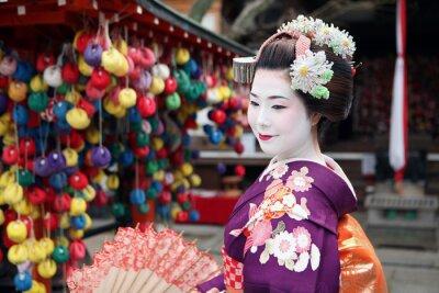 Póster Le visage de Kyoto
