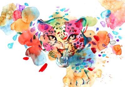 Póster leopardo