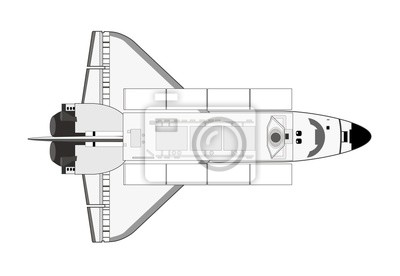 línea lanzadera espacial