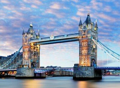 Póster Londres, Tower Bridge