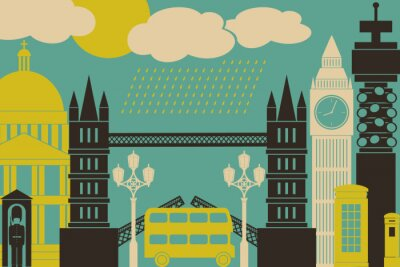 Póster Londres Ver