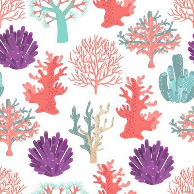 Póster Los corales sin patrón