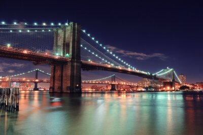 Póster Manhattan de Nueva York