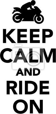Mantén calma y continua adelante