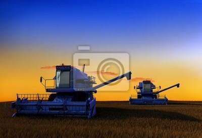 máquina para la cosecha