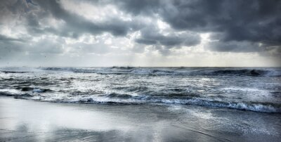 Póster Mar agitado