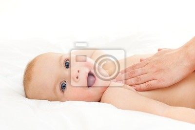 Masaje del bebé