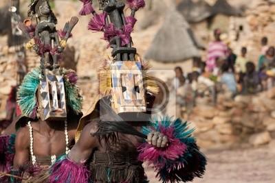 Máscara Satibe y la danza dogón, Mali.