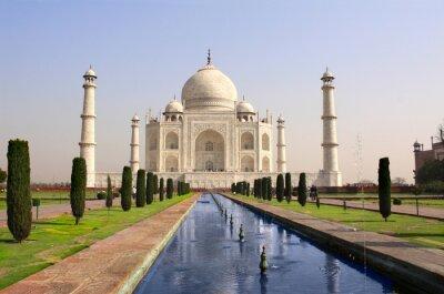 Póster Mausoleo del Taj Mahal, Agra, India