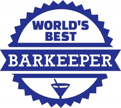 Mejor del mundo Barkeeper Bartender Barman