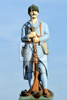 Mémorial. Soldat de la guerre 14-18