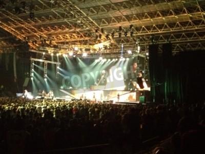 Póster Metallica live Cape Town