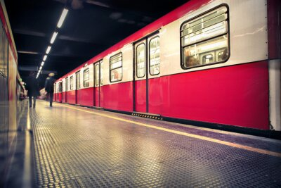 Póster metro