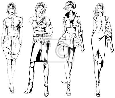 Póster moda