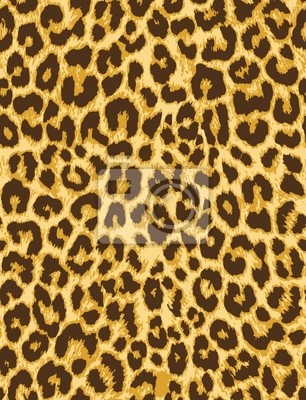 Modelo inconsútil del vector de piel de leopardo