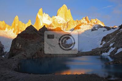 Montaña Fitz Roy. Parque Nacional Los Glaciares.