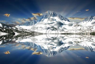 Monte Davis sobre Thousand Island Lake