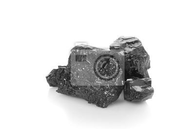 Montón de carbón