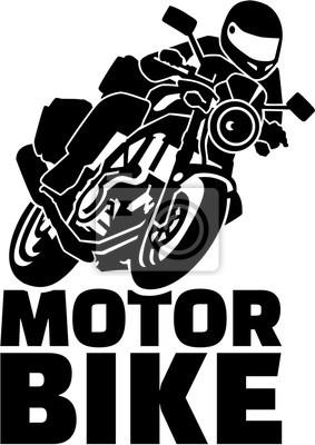 Motobike con el motorista